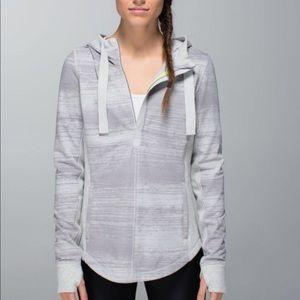 Lululemon Half Zip Grey Hoodie